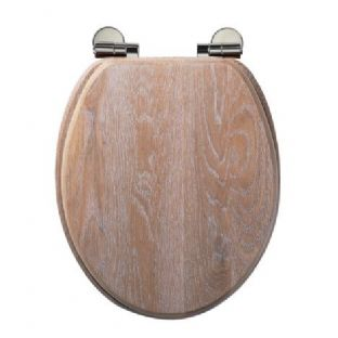 Roper Rhodes - Traditional Soft Close Toilet Seat (Limed Oak) - 8081LISC